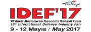 IDEF 2017 13'üncü Uluslararası Savunma Sanayii Fuarı
