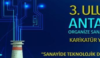 Antalya OSB 3. Ulusal Karikatür Yarışması Başladı